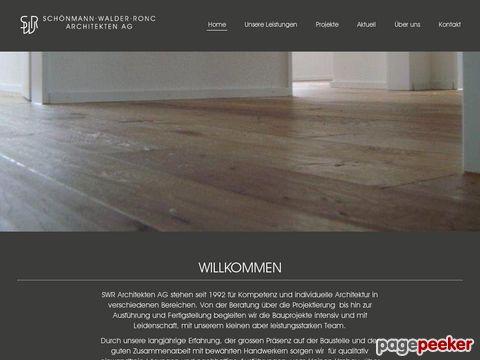 Schönmann Walder Ronc Architekten AG