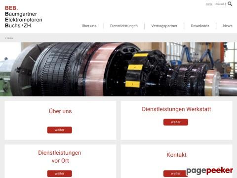 Baumgartner Elektromotoren-Reparaturwerk AG